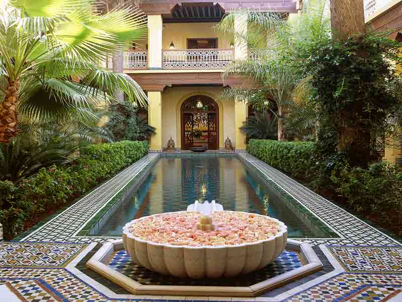 Riad de luxe au maroc location riad luxe marrakech hotels ryads - Photo riad marrakech ...