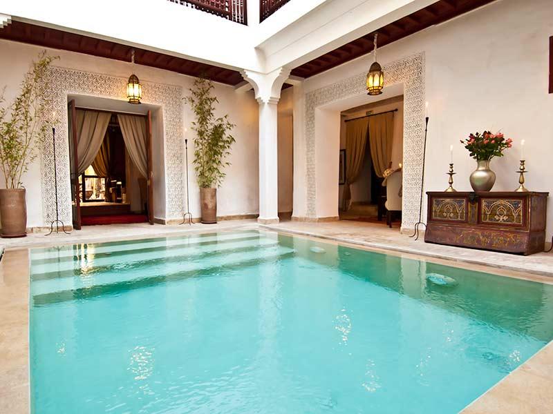 Riad m dina marrakech le meilleur de la r servation de for Bab hotel marrakech piscine