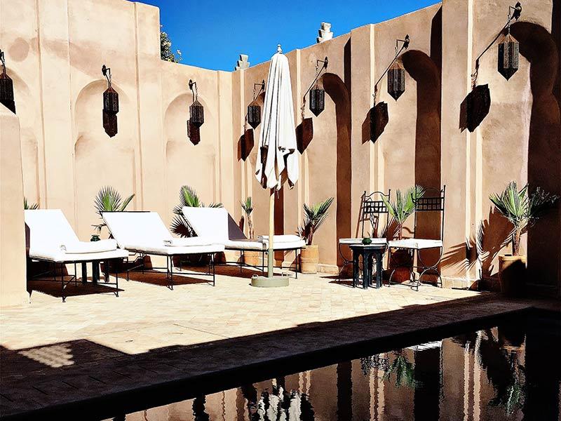 Almaha marrakech louez le almaha marrakech marrakech for Riad marrakech piscine chauffee