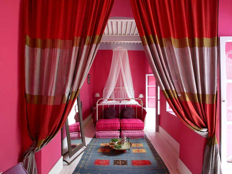 Suite Rose Indien