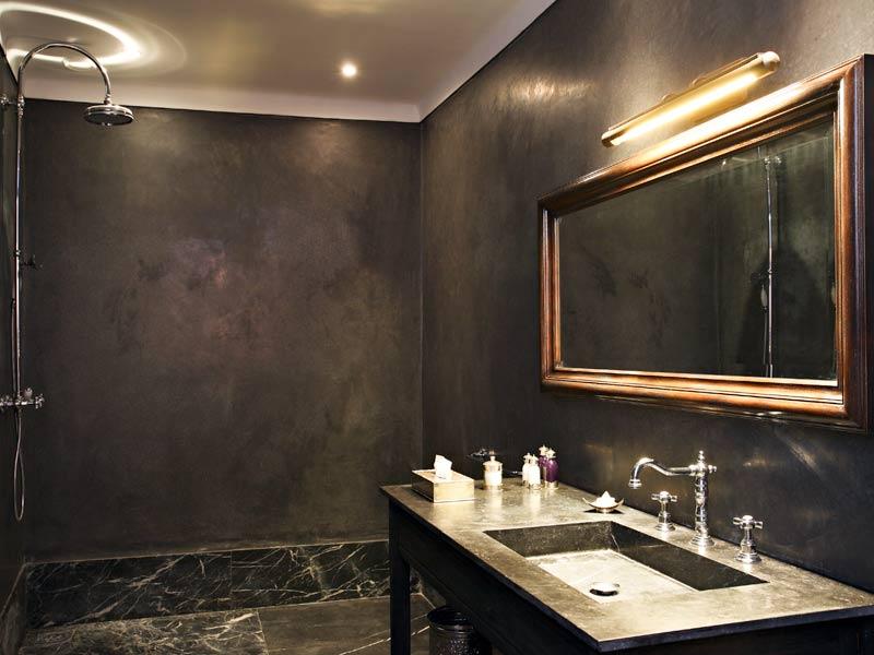 salle de bain en tadelakt gris tadelakt salle de bain sur carrelage - Tadelakt Salle De Bain Sur Carrelage