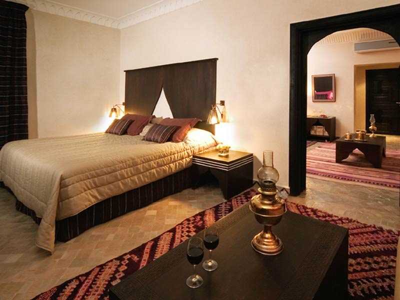 Riad fes relais ch teaux f s hotels ryads for Chambre communiquante