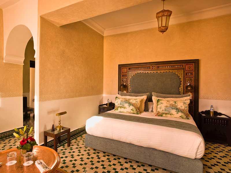 Riad fes relais ch teaux f s hotels ryads for Chambre communiquante