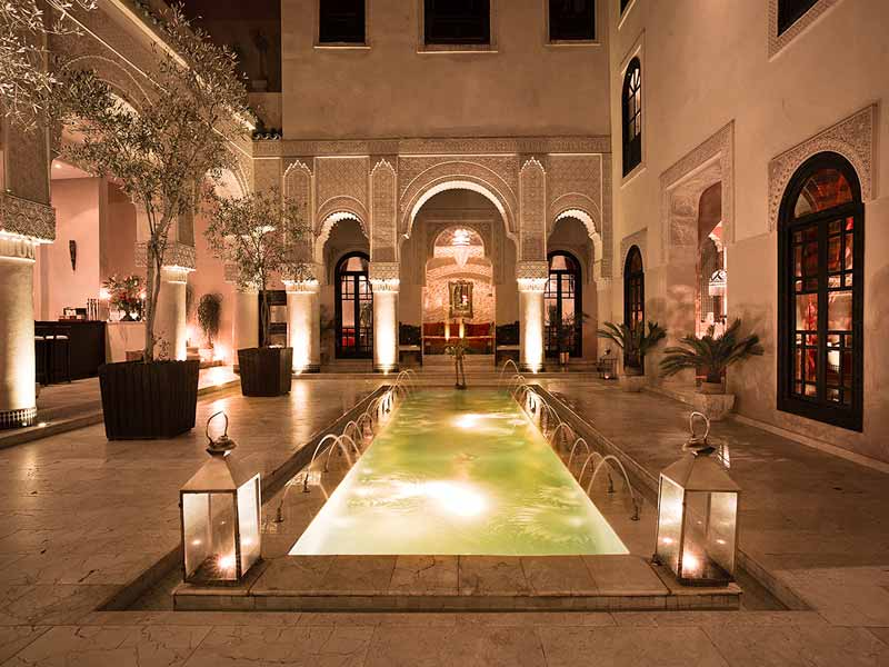 H tel tourisme d 39 affaire au maroc for Design hotel marrakech