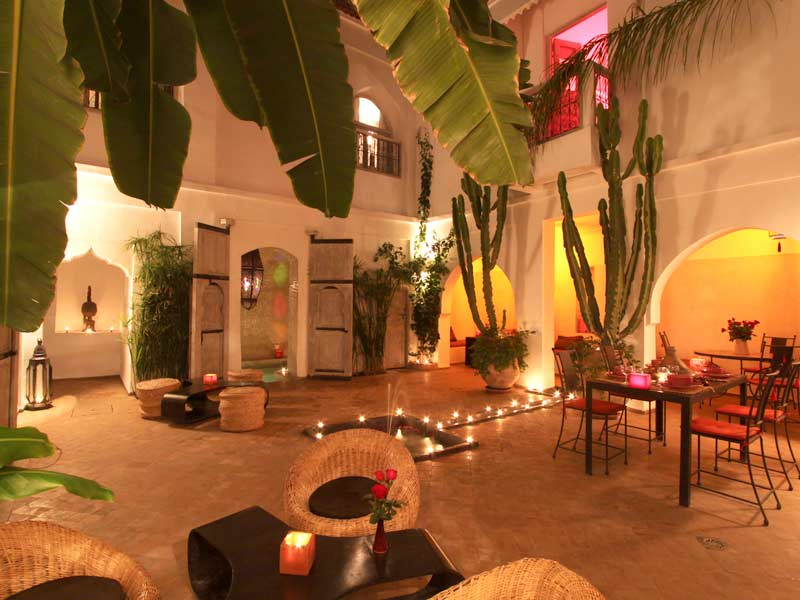 Riad o louez le riad o marrakech hotels ryads for Decoration maison normande traditionnelle