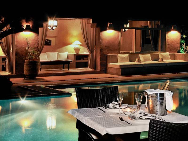 Riad villa 55 louez le riad villa 55 marrakech for Riad marrakech piscine chauffee