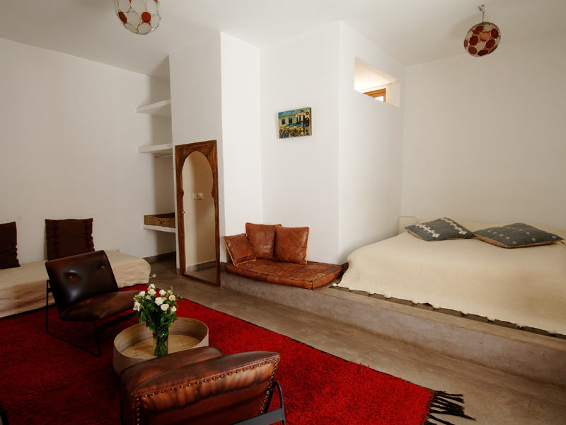 Riad wo louez le riad wo marrakech hotels ryads for Chambre avec alcove