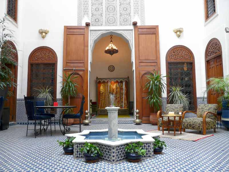 vacances en famille s jour famille en riad au maroc hotels ryads. Black Bedroom Furniture Sets. Home Design Ideas